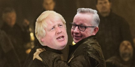 Lan Ape Boris Johnson Michael Gove Red Wedding Murder Boris Johnson