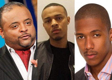 Roland Martin Bow Wow Nick Cannon Bow Wow
