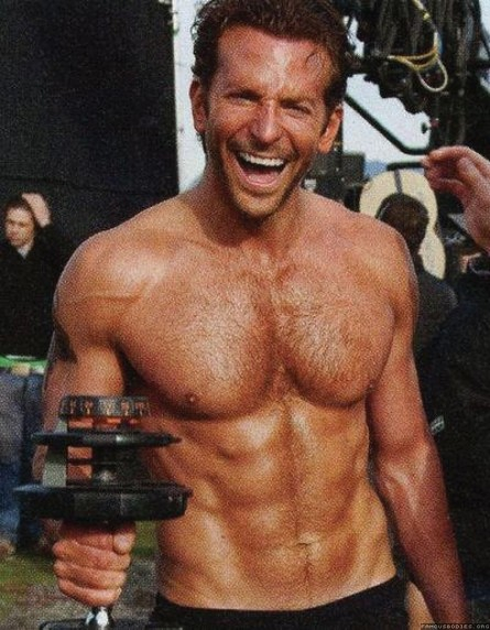 Bradley Cooper Shirtless Body