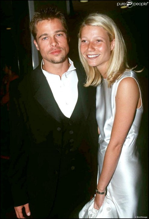 Brad Pitt Et Gwyneth Paltrow La Ere Fashion