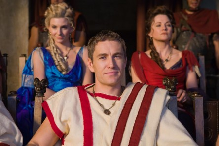 Picture Of Lucy Lawless Brett Tucker And Viva Bianca In Spartacus Blood And Sand Large Picture