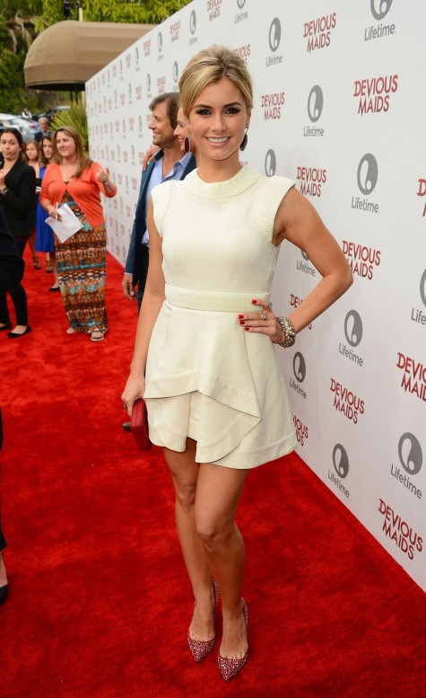 Brianna Brown At Devious Maids Premiere In Pacific Palisades Beach