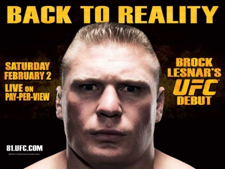 Lesnar Back To Reality