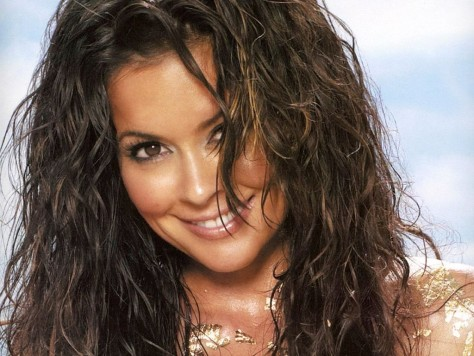 Brooke Burke Close Up Face Smile Wallpaper Brooke Burke