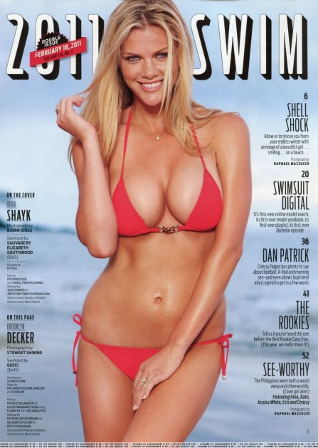 Sports Illustrated Swimsuit Brooklyn Decker Brooklyn Decker