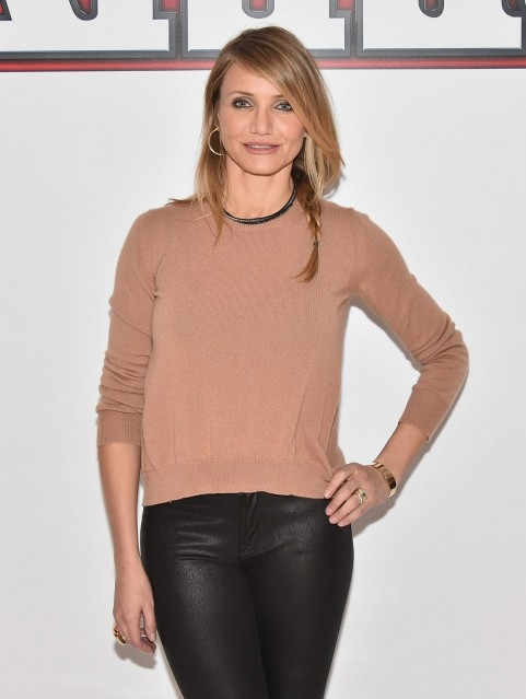 Cameron Diaz Coming To Annie Photocall In New York City