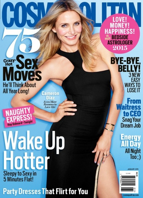 Cameron Diaz Cosmopolitan January