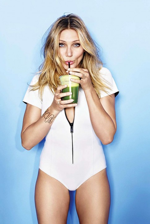 Cameron Diaz Cosmopolitan Magazine January