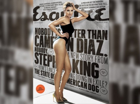 Ht Esquire Cover Cameron Diaz Jc Cameron Diaz