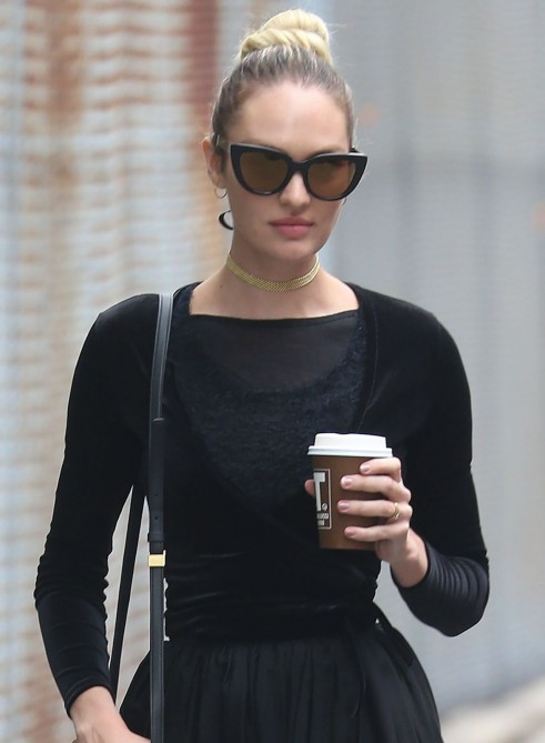 Candice Swanepoel Out And About In Nyc Candice Swanepoel
