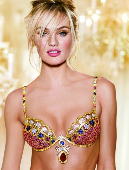 Royal Fantasy Bra Candice Swanepoel Million Mouawad Victorias Secret Hi Res