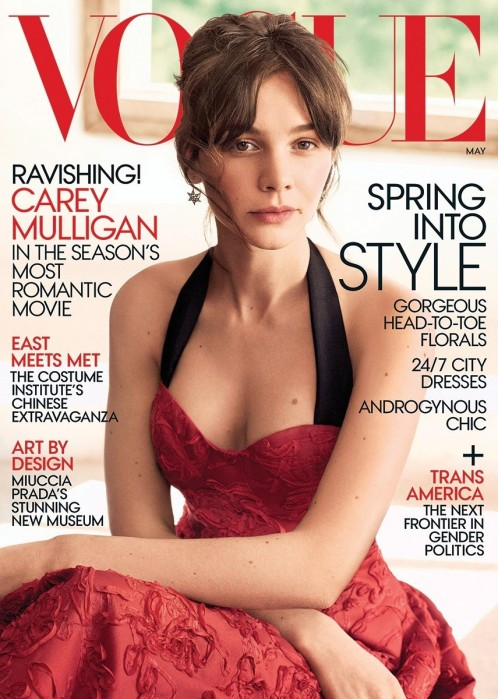 Carey Mulligan May Vogue Cover Carey Mulligan