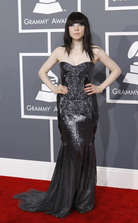 Pop Singer Carly Rae Jepsen Arrives At The Th Annual Grammy Awards In Los Angeles California February Carly Rae Jepsen