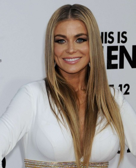 Carmen Electra In White Dress