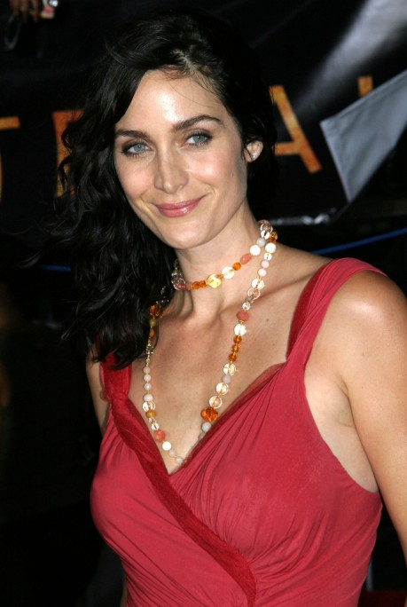 Celebrity City Carrie Anne Moss Carrie Anne Moss