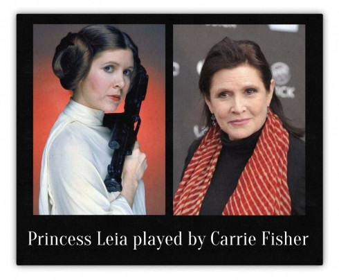 Carrie Fisher As Princess Leia Carrie Fisher