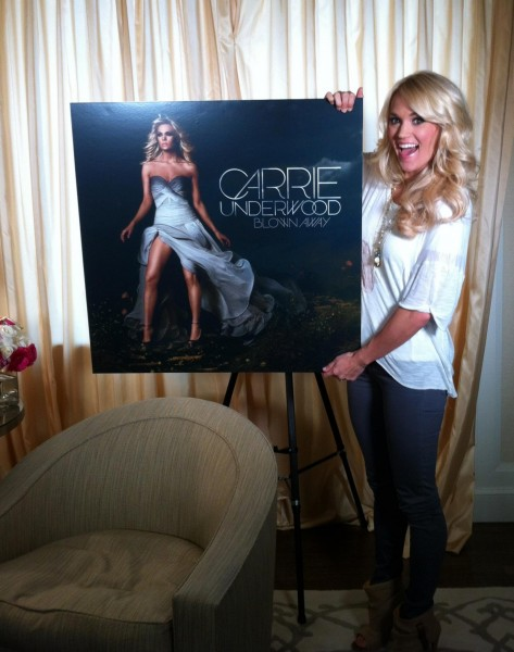Carrie Underwood Blown Away Platinum Countrymusicrocksnet Carrie Underwood