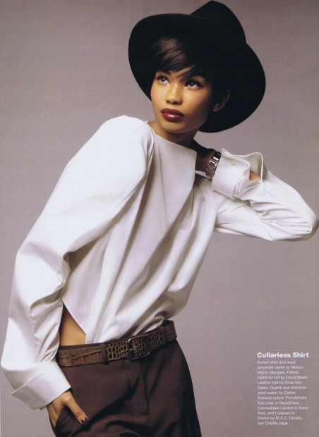 Chanel Iman The Other Woman Allure Mag Sep Fashion