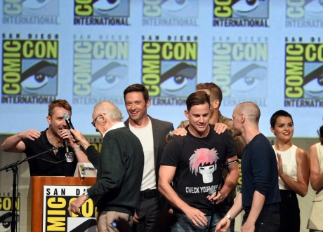 Channing Tatum Comic Con Channing Tatum