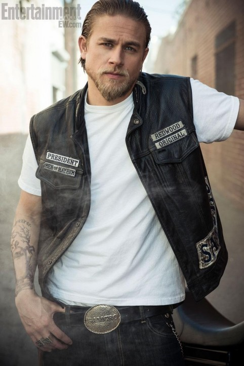 Charlie Hunnam Entertainment Weekly Photoshoot Sons Of Anarchy Charlie Hunnam
