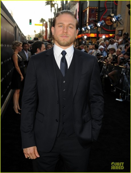 Charlie Hunnam Premiera Pacific Rim Hollywood Pacific Rim