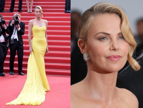 Charlize Theron Cannes Jewelry