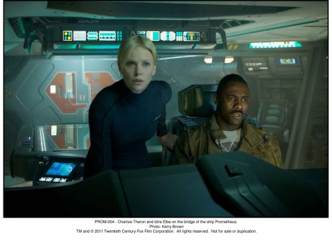 Prometheus Charlize Theron Idris Elba Prometheus