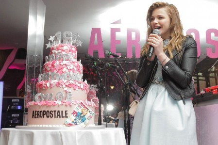 Celebrity Style Red Carpet Oe Moretz Birthday Intro Oe Moretz