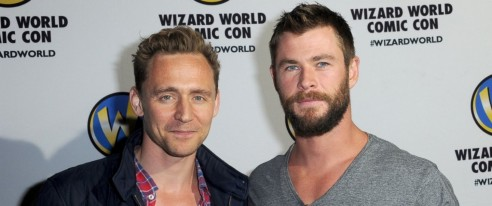 Gty Tom Hiddleston Chris Hemsworth As Chris Hemsworth