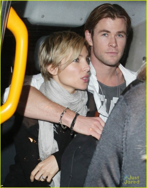 London Chris And Liam Hemsworth And Liam Hemsworth