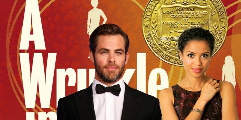 Gugu Mbatha Raw Chris Pine Wrinkle In Time Chris Pine