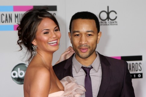 John Legend And Christine Teigen Awards Wedding