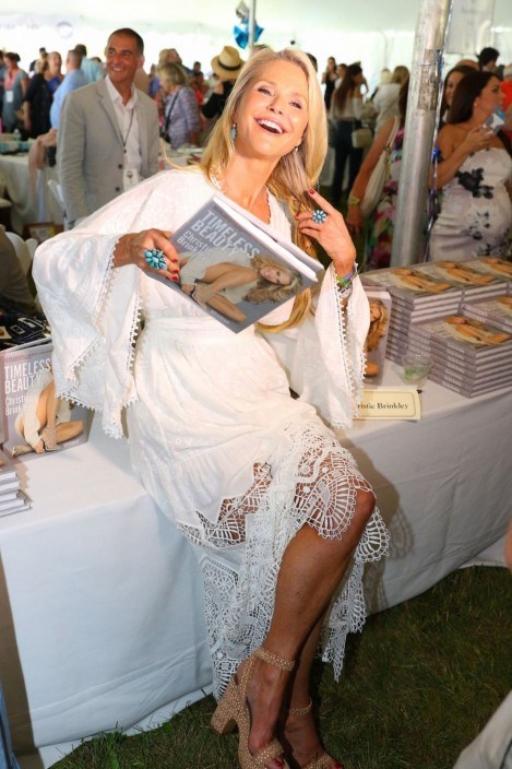Christie Brinkley At East Hamptons Authors Night Event In New York Christie Brinkley