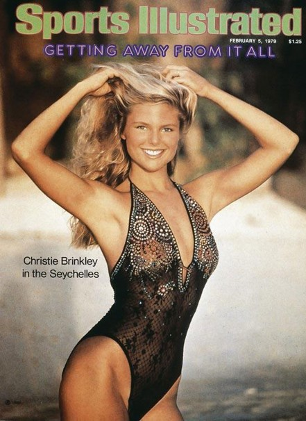 Christie Brinkley Si Swimsuit Issue Cover Christie Brinkley