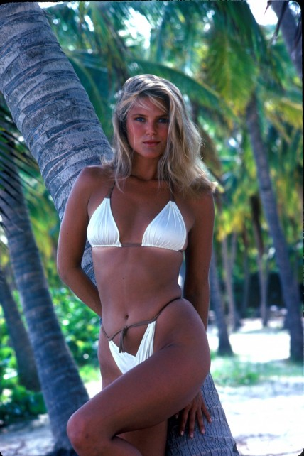 Sports Illustrated Photoshoot Christie Brinkley Christie Brinkley