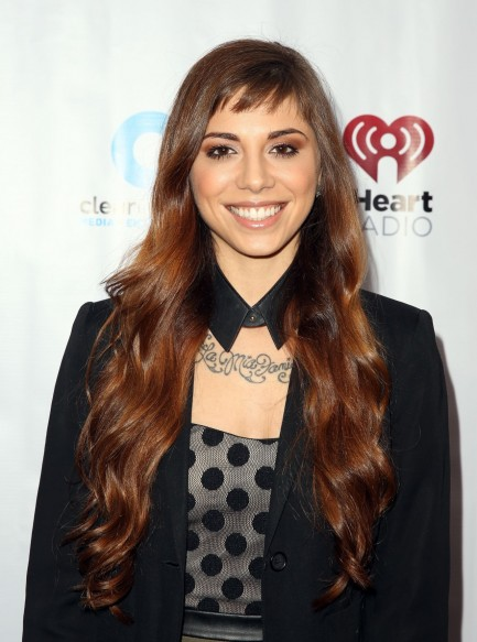 Christina Perri Iheartradio Artists On The Verge March Christina Perri