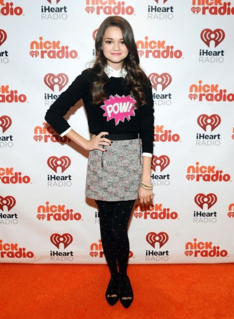 Ciara Bravo At Iheartradio Nick Radio Launch Party In New York