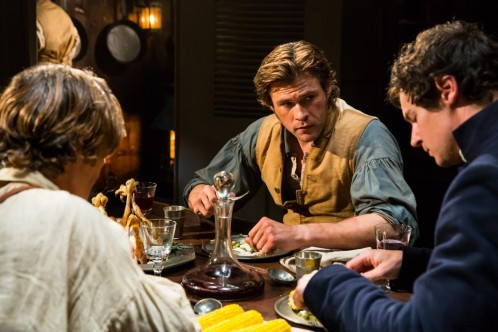 Cillian Murphy Benjamin Walker And Chris Hemsworth In In The Heart Of The Sea Cillian Murphy