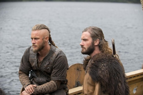 Picture Of Travis Fimmel And Clive Standen In Vikings Burial Of The Dead Large Picture Vikings