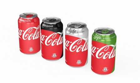 Ml Cans Onebrand Lineup Coca Cola