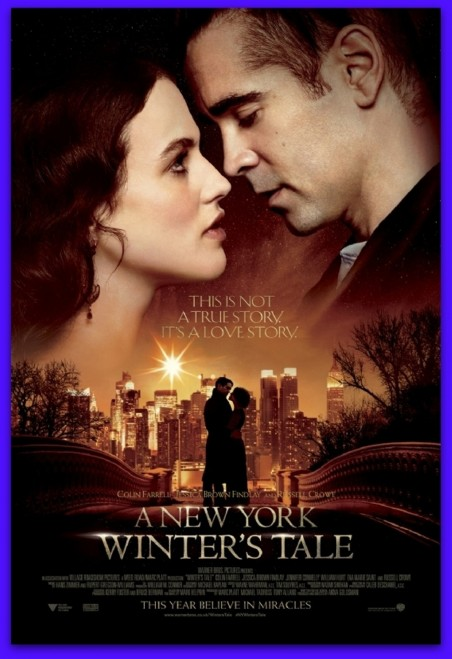 New Poster For Winters Tale With Colin Farrell And Jessica Brown Findlay