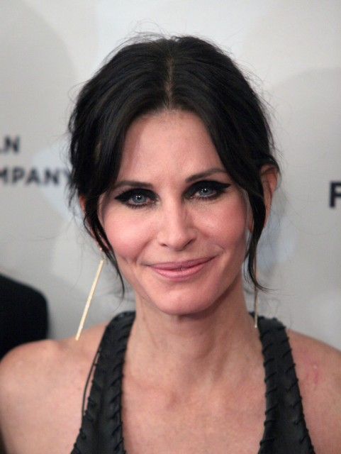 Courteney Cox Just Before Go Premiere At Tribeca Film Courtney Cox