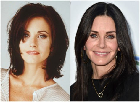 Courteney Cox Then Now Courtney Cox
