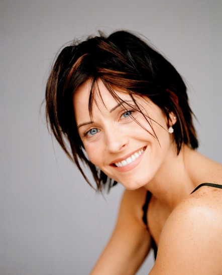 Courtney Cox Short Long Arquette Hairstyles Pictures Courtney Cox