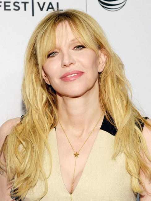 Courtney Love Kurt Cobain Montage Of Heck Premiere In New York City Courtney Love