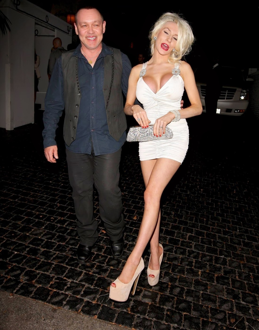 Courtney Stodden At Chateau Marmont Tv