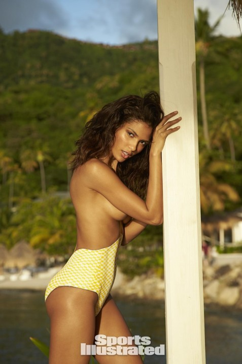 Cris Urena Bodypaint Sports Illustrated Itoke Mgf Cris Urena
