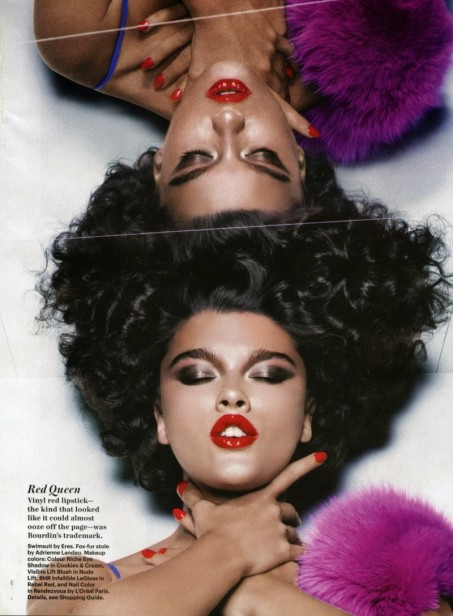 Crystal Renn By Nicolas Moore For Allure November