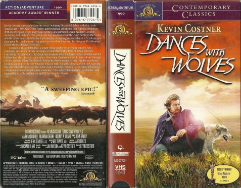 Dances With Wolves Dvd Cover