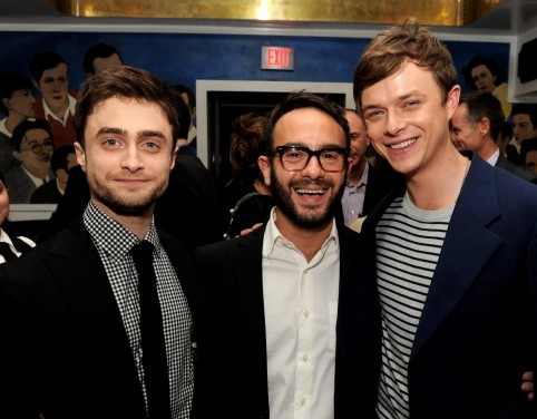 Daniel Radcliffe John Krokidas And Dane Dehaan At Event Of Kill Your Darlings